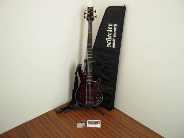 SCHECTER-DIAMOND-SERIES-HELLRAISER-5弦-ベース